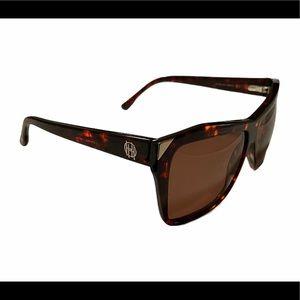 House of Harlow 1960s Marie Tortoise Sunglasses